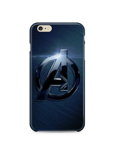 Avengers Logo Iphone 4s 5s 5c 6 6S 7 8 X XS Max XR + Plus Cover Case