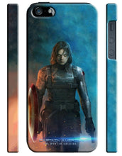 Load image into Gallery viewer, Civil War Winter Soldier Iphone 4s 5s 5c SE 6S 7 8 X XS Max XR Plus Case 5