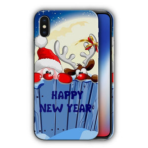 Santa Claus Christmas iPhone 5S 5c 6 6S 7 8 X XS Max XR Plus SE Case Cover 8