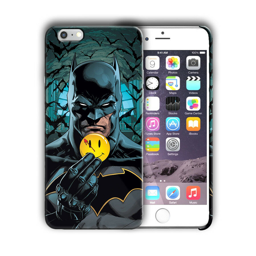 Super Hero Batman Iphone 4 4s 5 5s 5c SE 6 6s 7 8 X XS Max XR Plus Case nn1