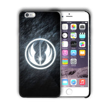 Load image into Gallery viewer, Star Wars Jedi Order Logo Iphone 4s 5 SE 6 7 8 X XS Max XR 11 Pro Plus Case n38