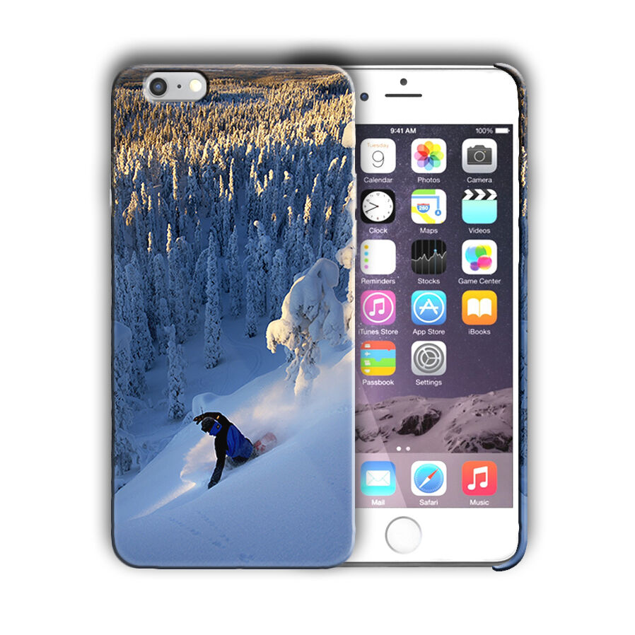 Extreme Sports Snowboarding Iphone 4s 5s 5c SE 6 6s 7 8 X XS Max XR Plus Case 06