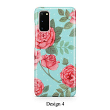 Load image into Gallery viewer, Pastel roses case for Galaxy s20 s20+ Ultra s10 s10+ s9 s8 s7 S6 Edge SN