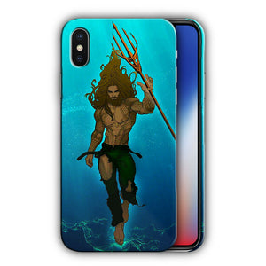 Super Hero Aquaman Iphone 4 4s 5 5s 5c SE 6 6s 7 8 X XS Max XR Plus Case n9