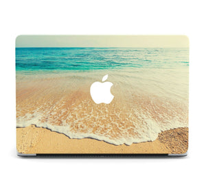 Nature Ocean Beach MacBook case for Mac Air Pro M1 13 16 Cover Skin SN156