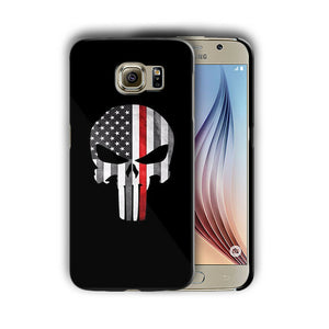 Super Hero Punisher Samsung Galaxy S4 5 6 7 8 9 10 E Edge Note Plus Case n11
