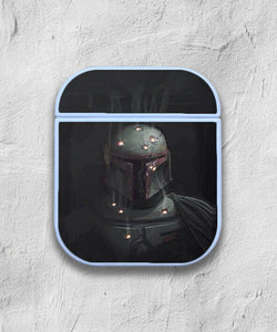 Star Wars Boba Fett case for AirPods 1 or 2 protective cover skin 01