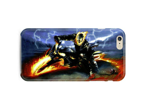 Iphone 4 4s 5 5s 5c 6 6S 7 8 X+ Plus Hard Cover Case Ghost Rider Comics Kids ip1