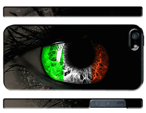 Ireland Irish Flag Symbol iPhone 4 4S 5 5S 5c 6 6S 7 + Plus Case Cover