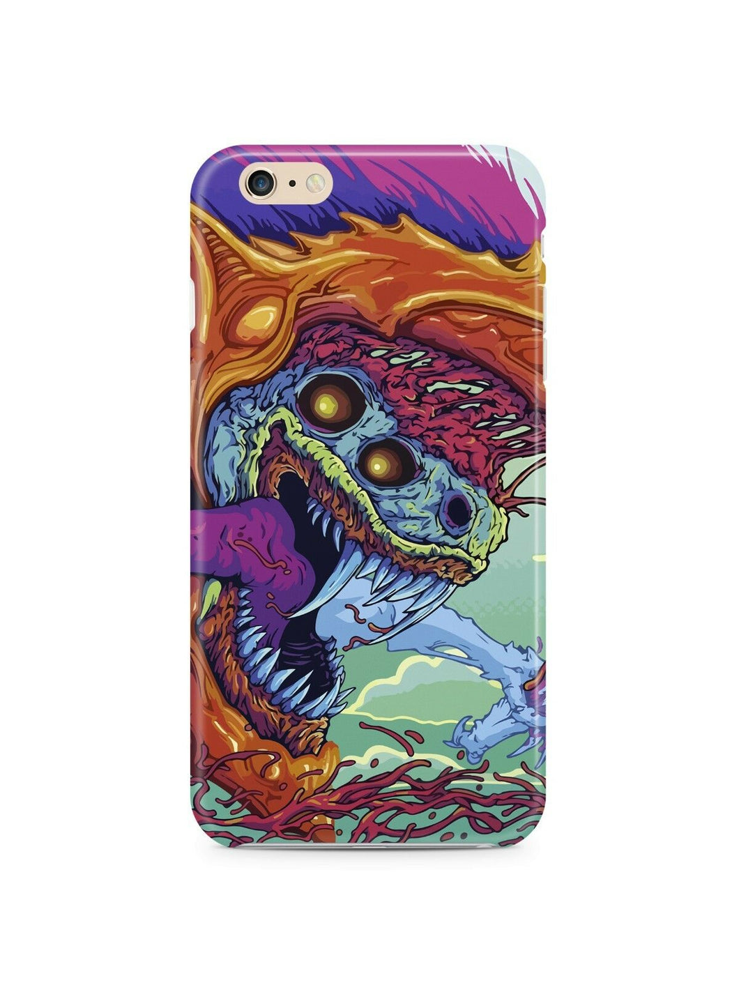 Hyper Beast Cs Go Iphone 4s 5s 5c 6S 7 8 X XS Max XR Plus Case Cover SE 16