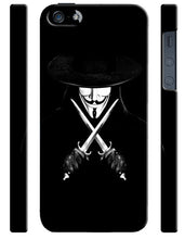 Load image into Gallery viewer, V For Vendetta Mask Christmas iPhone 4 4S 5 5S 5c 6 6S 7 + Plus Case Cover 54
