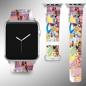 Disney Princesses Apple Watch Band SE 44 40 38 42 Series 6 5 3 SE Straps bands