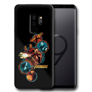 Avengers Infinity War Samsung Galaxy S4 5 6 7 8 9 10 E Edge Note Plus Case 24