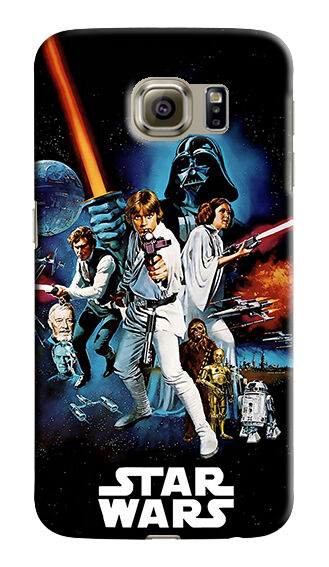 Star Wars Samsung Galaxy S4 5 6 7 8 9 10 E Edge Note 3 - 10 Plus Case Cover 19