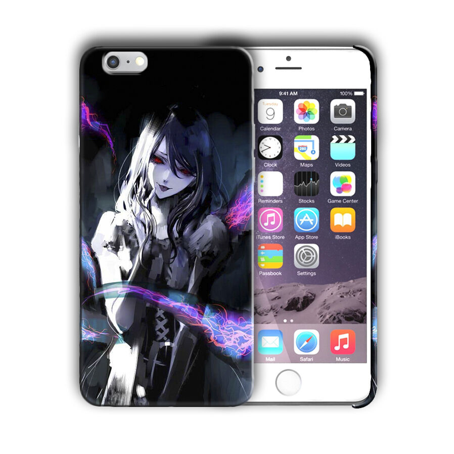Tokyo Ghoul Rize Kamishiro Iphone 4s 5s 5c SE 6s 7 8 X XS Max XR Plus Case 06