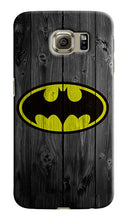 Load image into Gallery viewer, Batman Wood Logo Samsung Galaxy S4 5 6 7 8 9 10 E Edge Note 3 - 10 Plus Case