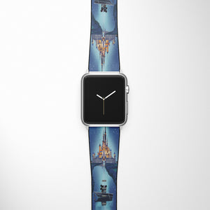 Disney castle Apple Watch Band SE 44 40 38 42 mm Series 6 5 3 4 2 iWacth Strap