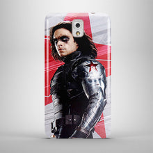 Load image into Gallery viewer, Civil War Winter Soldier Samsung Galaxy S5 4 6 7 8 9 10 E Edge Note Plus Case