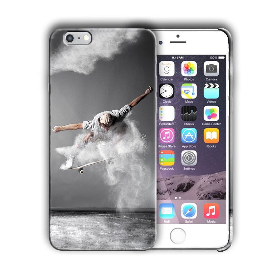 Extreme Sports Skateboarding Iphone 4 4s 5 5s 5c SE 6 6s 7 + Plus Case Cover 04