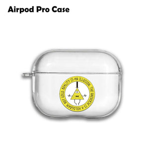 Cartoon Gravity Falls Silicone Case for AirPods 1 2 3 Pro gel clear cover SN 192