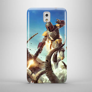 Star Wars Boba Fett Samsung Galaxy S4 S5 S6 Edge Note 3 4 5 + Plus Case 136