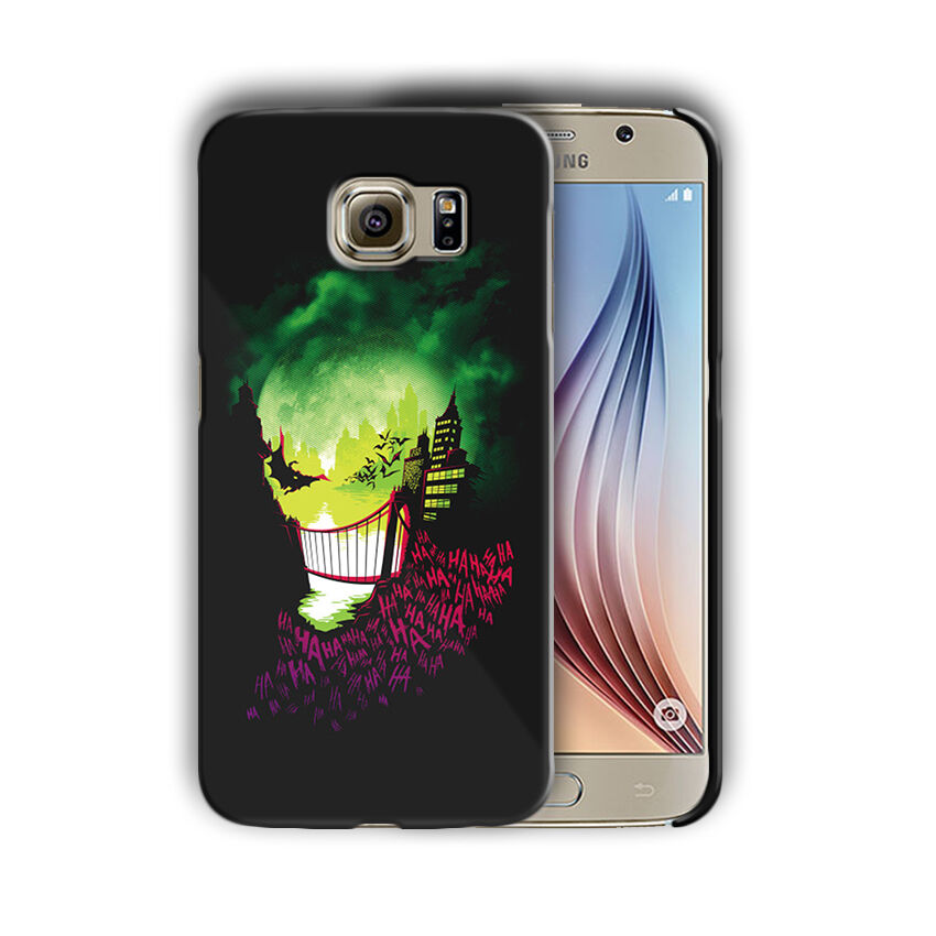 Super Villain Joker Samsung Galaxy S4 5 6 7 8 9 10 E Edge Note Plus Case n3