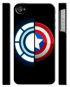 Captain America: Civil War Logo Iphone 4s 5 5s 5c 6 6S 7 8 X Plus Case Cover 20