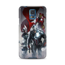 Load image into Gallery viewer, Captain America Avengers Samsung Galaxy S4 5 6 7 8 Edge Note 3 4 5 7 + Plus Case
