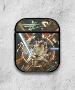 Star Wars Characters case for AirPods 1 or 2 protective cover skin
