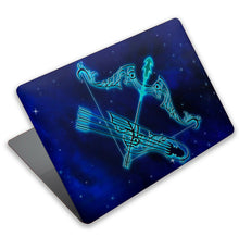 Load image into Gallery viewer, Horoscope Sagittarius MacBook case for Mac Air Pro M1 13 16 Cover Skin SN202