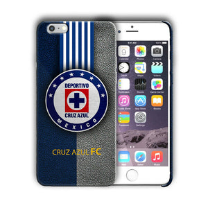 Cruz Azul FC Iphone 4S 5s 6S 7 8 X XS Max XR 11 Pro Plus SE Case Cover Logo 02