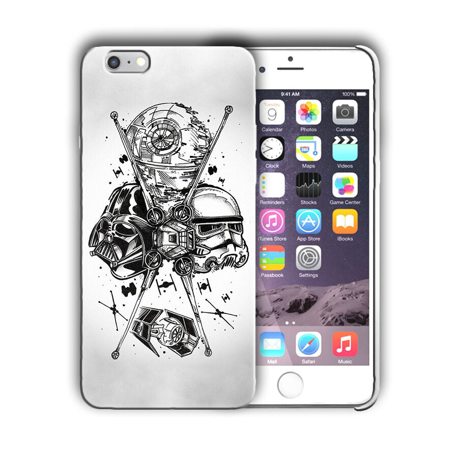 Star Wars Darth Vader Iphone 4s 5 SE 6 7 8 X XS Max XR 11 Pro Plus Case n16
