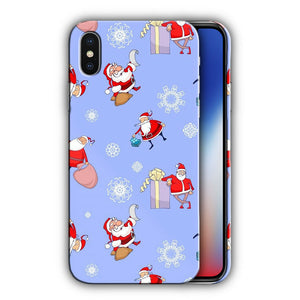 Santa Claus Christmas iPhone 5S 5c 6 6S 7 8 X XS Max XR Plus SE Case Cover 5