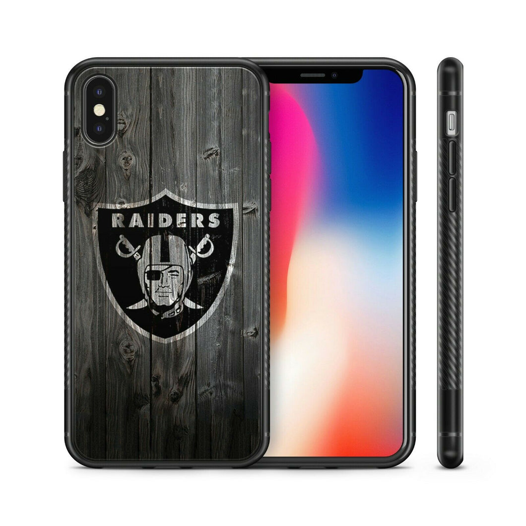 Oakland Raiders case for iphone XR X XS Max 7 8 plus silicone cover 5 6