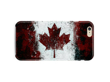 Load image into Gallery viewer, Symbol Canada Flag iPhone 4S 5 5S 5c 6S 7 8 X XS Max XR 11 Pro Plus SE Case 3