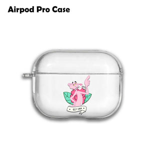 The Pink Panther Silicone Case for AirPods 1 2 3 Pro gel clear cover SN 238