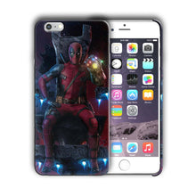 Load image into Gallery viewer, Super Hero Deadpool Iphone 5 5s SE 6 6s 7 8 X XS Max XR 11 12 Pro Plus Case n14
