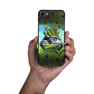 Rubber bumper case Seattle Seahawks for iphone X XS Max XR 5 6 8 7 plus cover