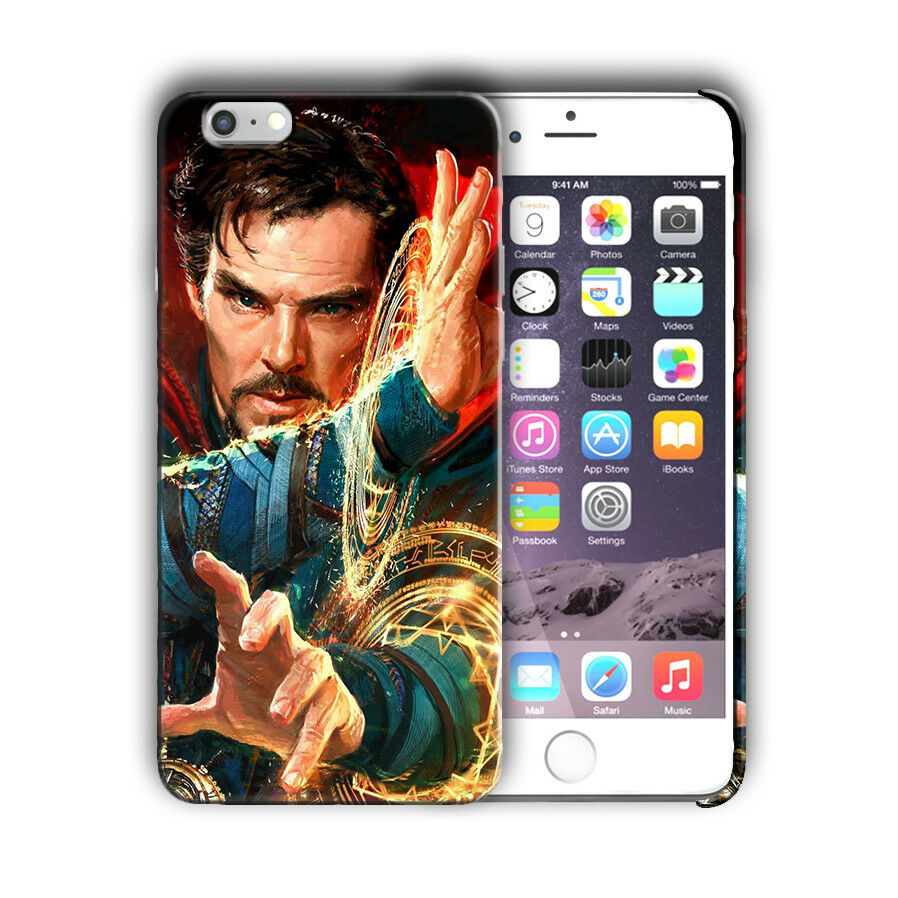 Doctor Strange iPhone 4 4S 5 5S 5c 6 6S 7 8 X XS Max XR Plus SE Case Cover n3