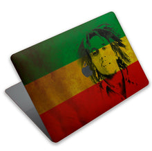 Load image into Gallery viewer, Bob Marley Rastaman MacBook case for Mac Air Pro M1 13 16 Cover Skin SN70