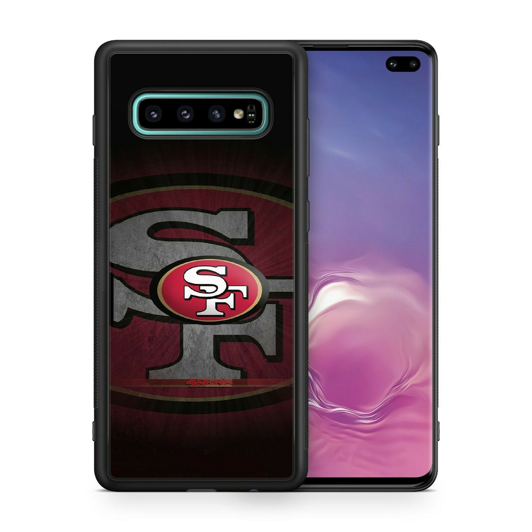 San Francisco 49ers protective TPU case for Galaxy S10 E S9 plus S8 S7 note 5 S6