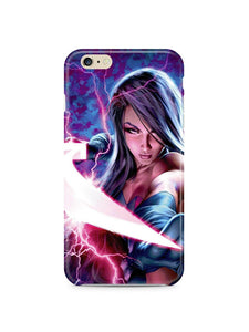 X-Men: Apocalypse Psylocke iPhone 4S 5S 5c 6 6S 7 8 X XS Max XR Plus SE Case 1