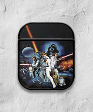 Load image into Gallery viewer, Star Wars Characters case for AirPods 1 or 2 protective cover skin 01