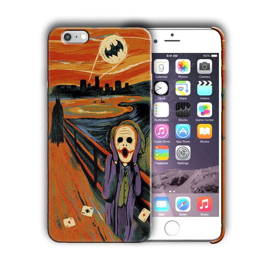 Super Villain Joker Iphone 4s 5 5s SE 6 6s 7 8 X XS Max XR 11 Pro Plus Case n10