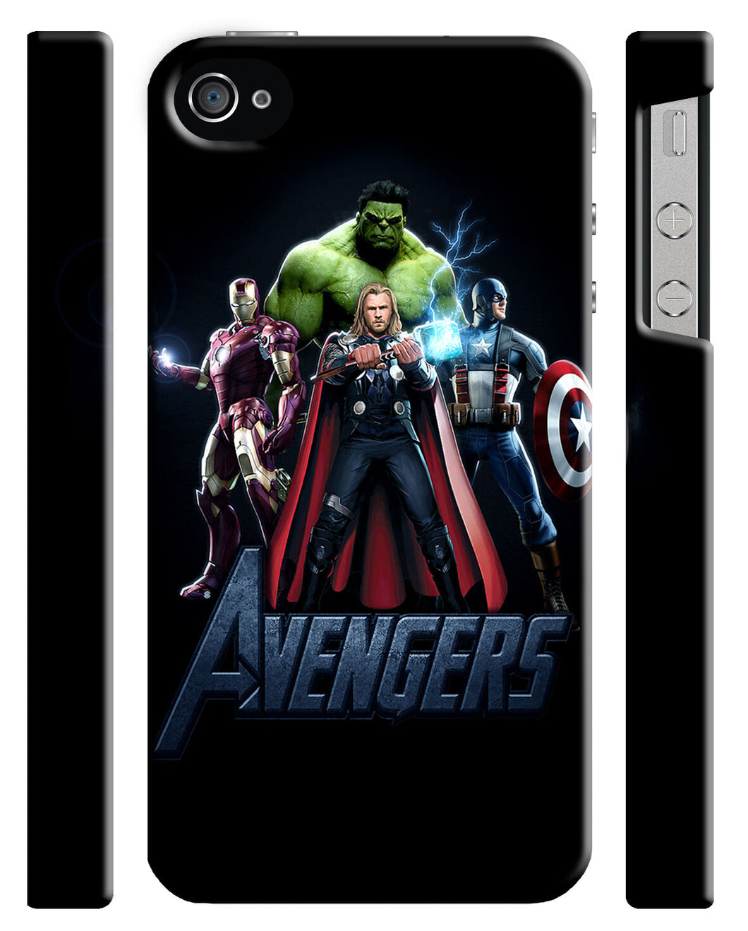 Avengers Age Of Ultron Iphone 4 4s 5 5s 5c 6 6S + Plus Cover Case Comics Kids