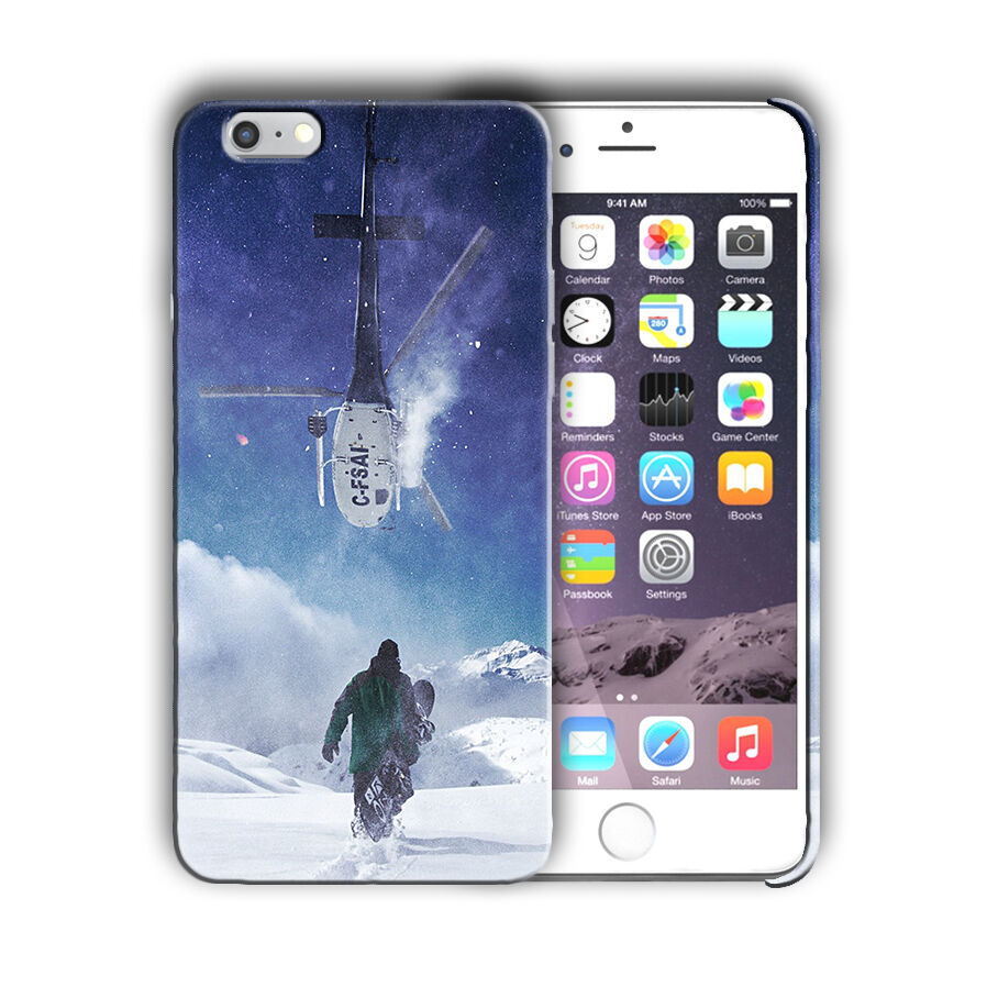 Extreme Sports Snowboarding Iphone 4 4s 5 5s 5c SE 6 6s 7 + Plus Case Cover 09
