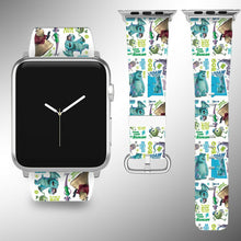 Load image into Gallery viewer, Monsters Disney Apple Watch Band 38 40 42 44 mm Series 5 1 2 3 4 Wrist Strap 2