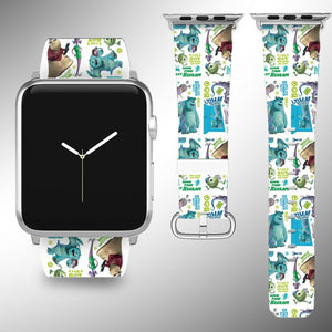 Monsters Disney Apple Watch Band 38 40 42 44 mm Series 5 1 2 3 4 Wrist Strap 2