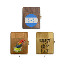 Load image into Gallery viewer, Republic of Honduras wooden Case for AirPods 1 2 3 Pro real wood cover SN 111