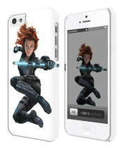 Load image into Gallery viewer, Captain America: Civil War Black Widow Iphone 4 4s 5 5s 5c 6 6S 7 + Plus Case 25